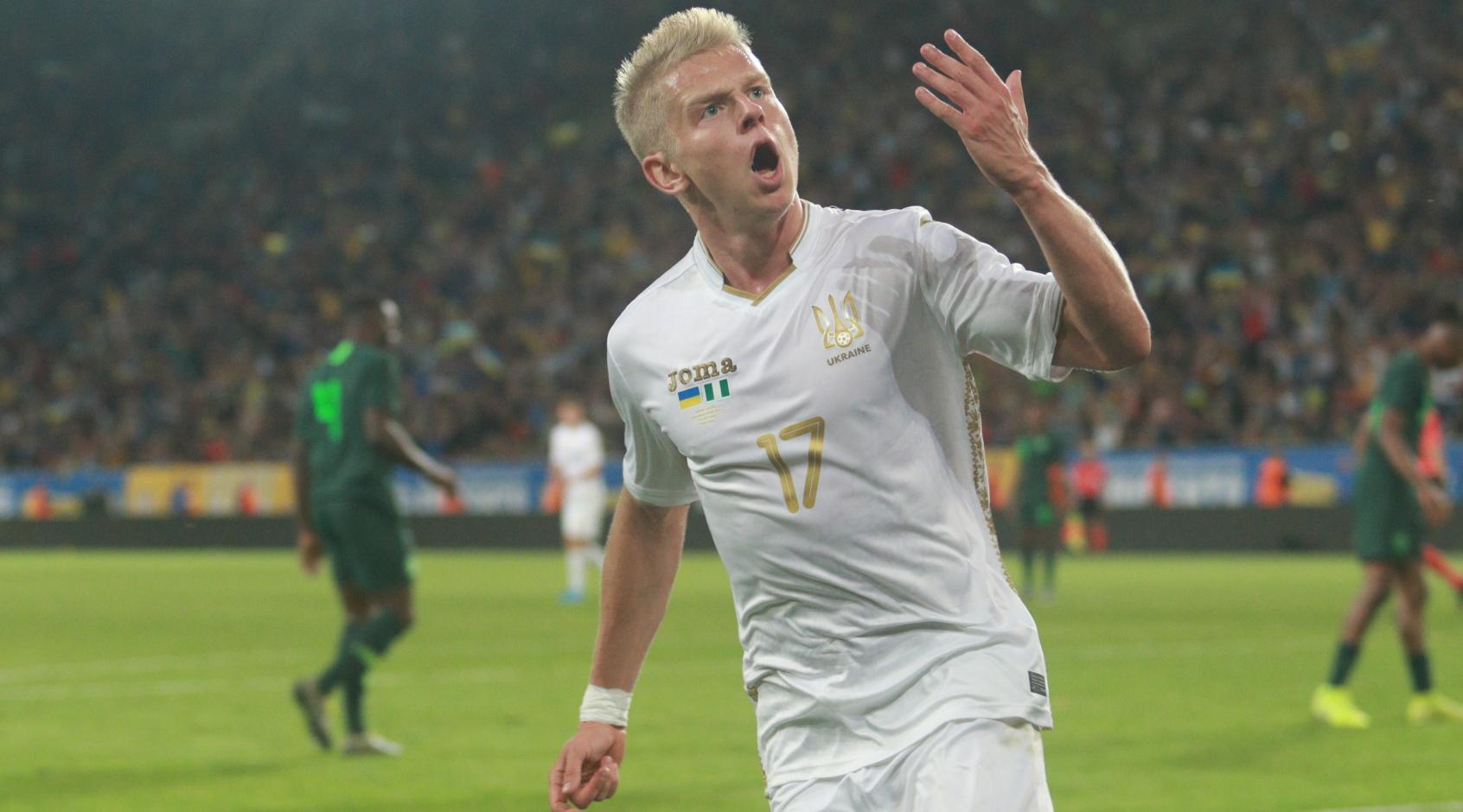 Украина - Кипр 2:0. Гол с пенальти Александра Зинченко (Видео)