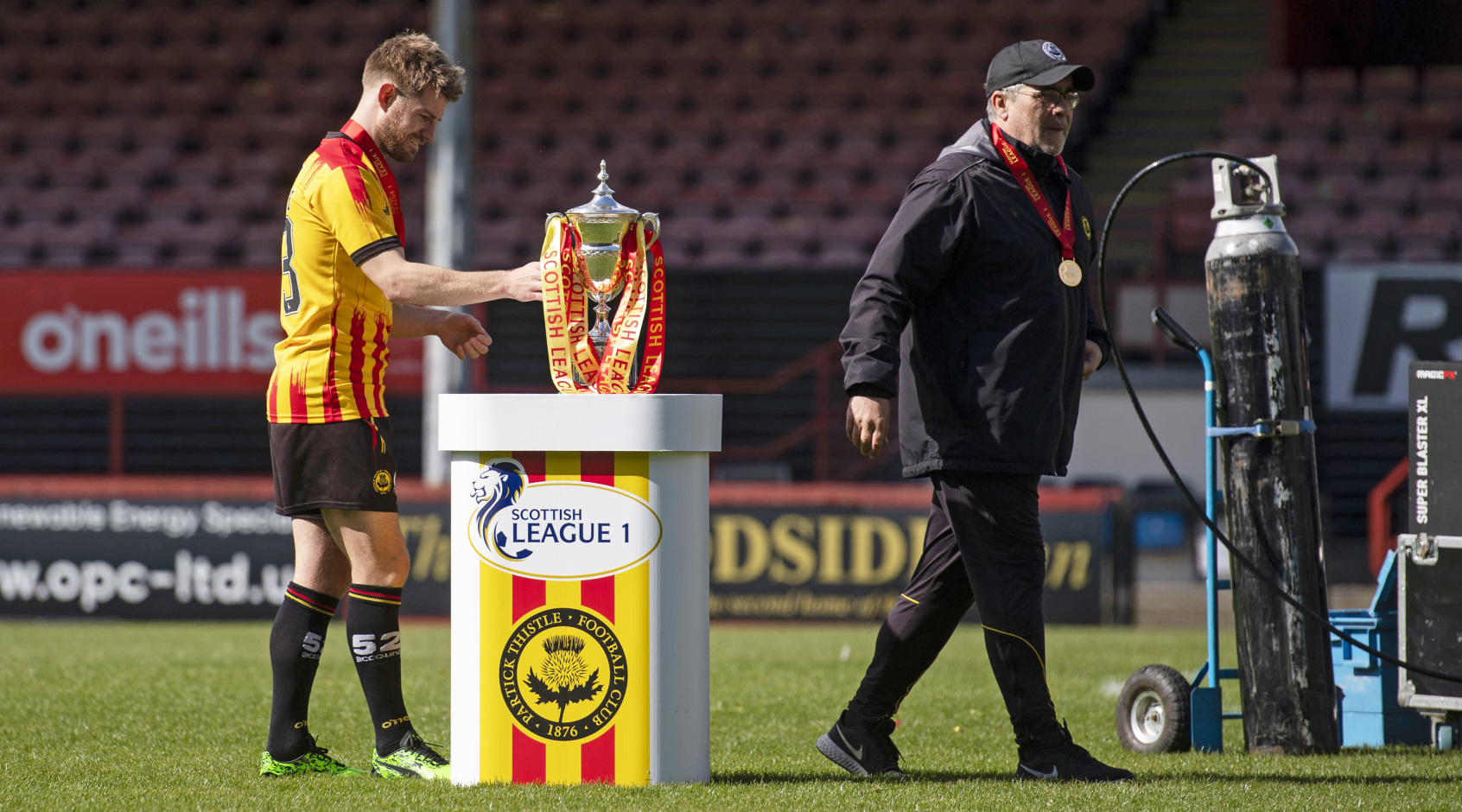 Месть по-шотландски: клуб не пустил футбольных чиновников на церемонию награждения (+Фото, Видео)