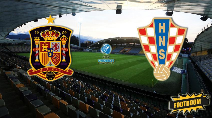 Евро-2021 (U-21). Испания - Хорватия. Анонс и прогноз матча