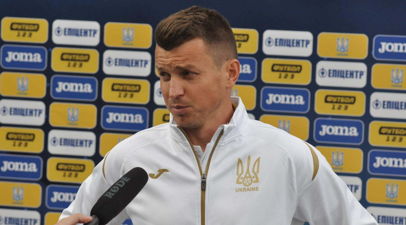 Руслан Ротань оголосив склад молодіжної збірної України на матчі із Францією та Фарерськими островами