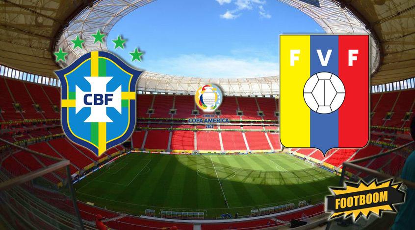 Бразилия - Венесуэла. Анонс и прогноз матча