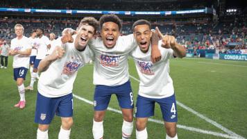 Сборная США стала триумфаторами Лиги наций КОНКАКАФ, обыграв в драматичном финале Мексику