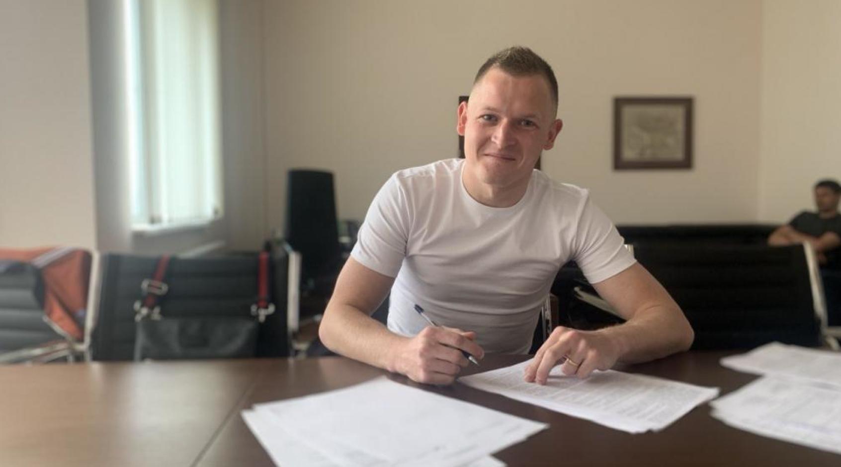 """Євген Пасіч: """"Пропозиція від """"Вереса"""" надійшла після завершення мого контракту з """"Олімпіком"""""""