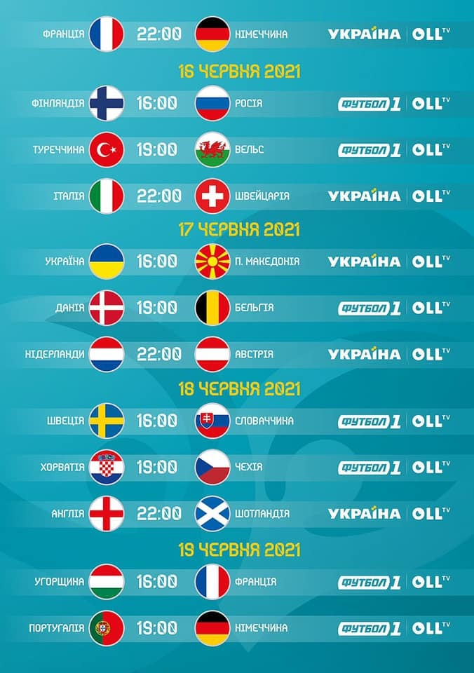 Де дивитися Євро-2020 в Україні - изображение 2