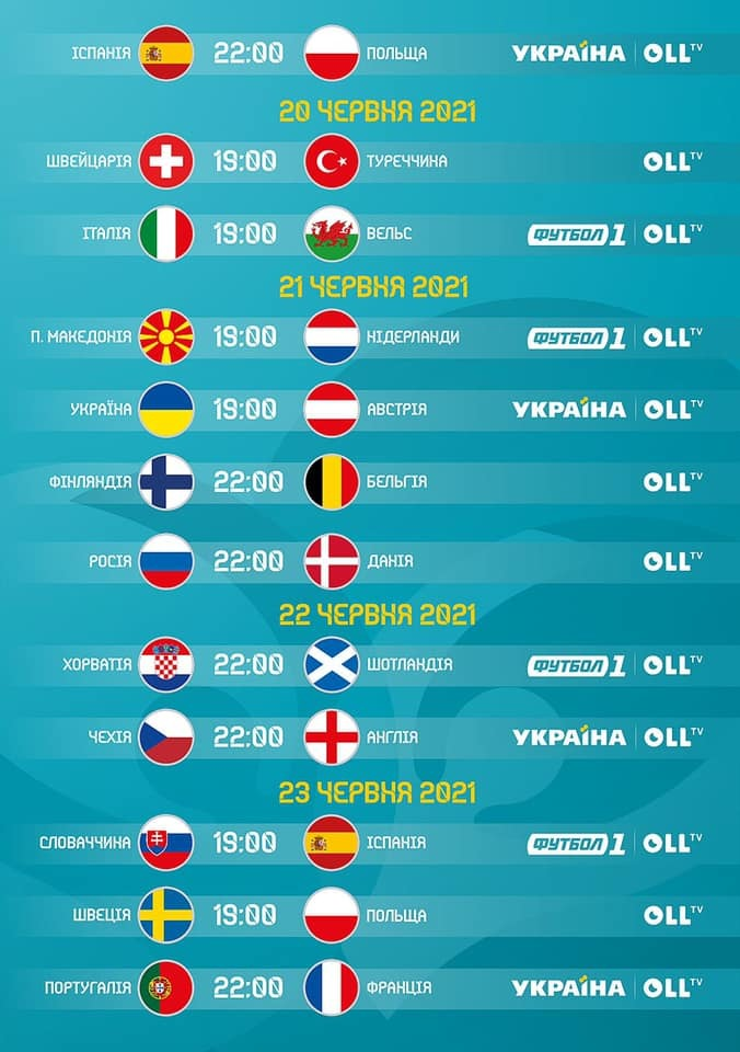 Де дивитися Євро-2020 в Україні - изображение 3