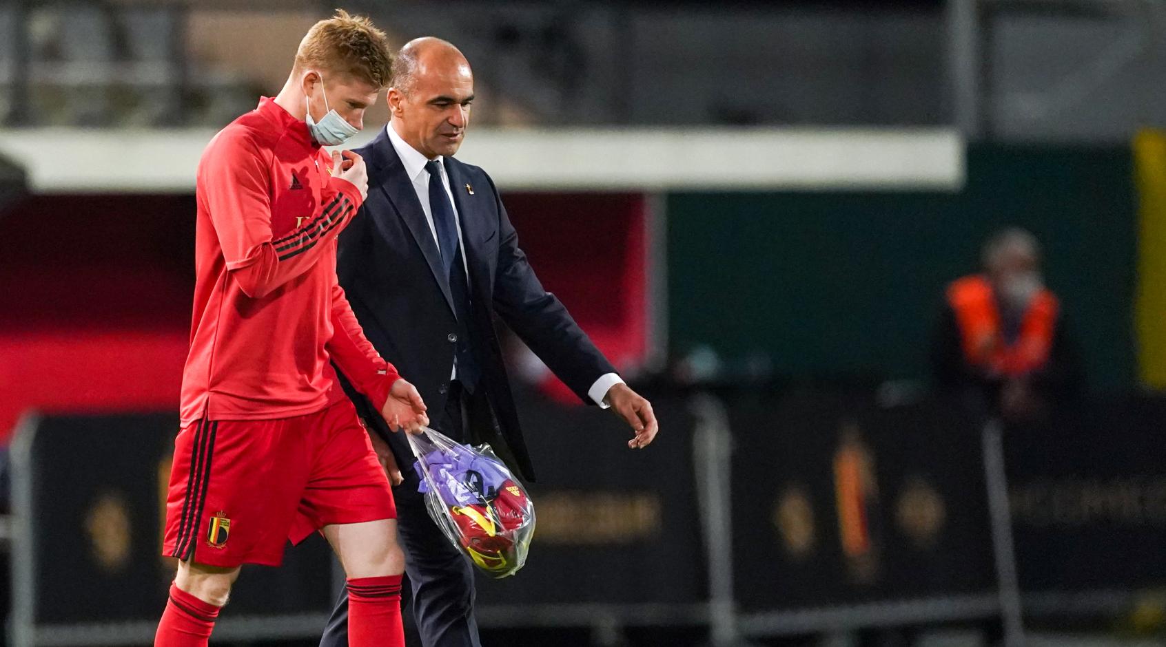 Источник: Де Брюйне пропустит первый матч Евро-2020