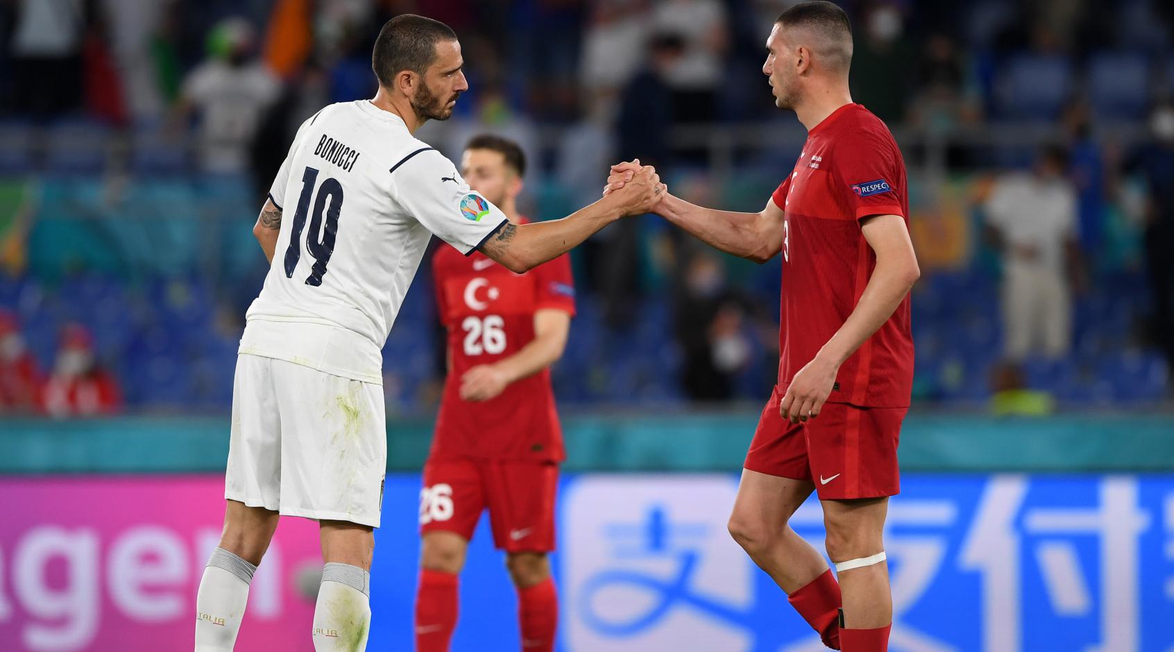 Турция не нанесла ни одного удара в ворота сборной Италии в первом тайме, это рекордная разница после Евро-2004