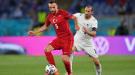 Блестящая работа ног от Хакана Чалханоглу и Кенана Карамана в матче Турция - Италия (Видео)