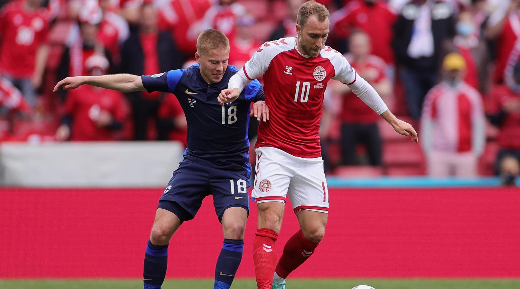 Наставник сборной Дании рассказал о визите Кристиана Эриксена в расположение команды