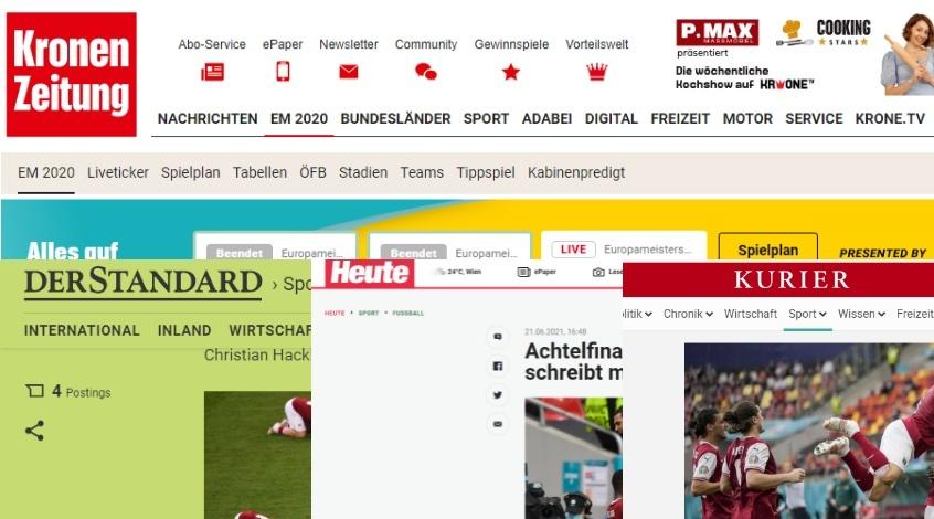 Украина – Австрия: обзор австрийских СМИ