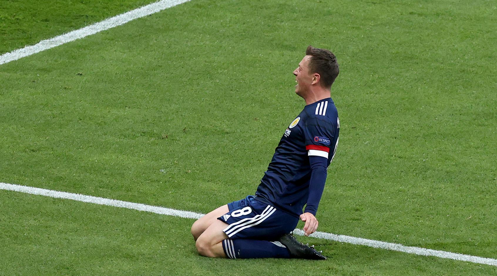Каллум Макгрегор забил первый за 25 лет гол сборной Шотландии на Евро (Видео)