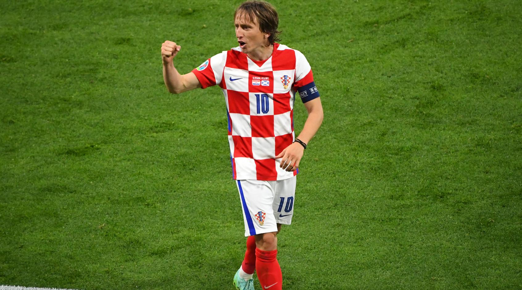 Лука Модрич стал самым возрастным и самым молодым автором гола сборной Хорватии на Евро