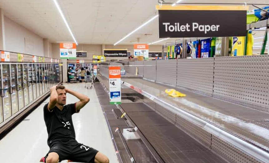В соцсетях высмеяли промах Томаса Мюллера в матче с Англией (Фото) - изображение 14