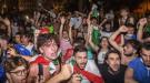 Как в Риме сходили с ума, поддерживая Италию в матче с Бельгией (Видео)