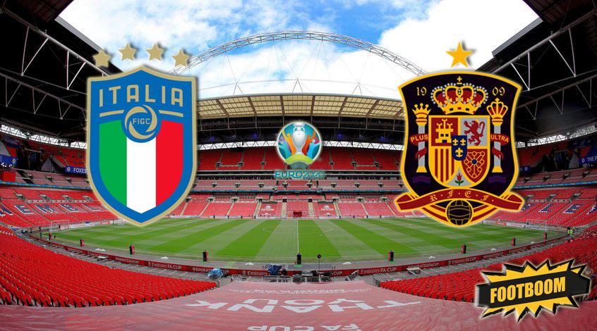 Италия -  Испания: где и когда смотреть матч онлайн