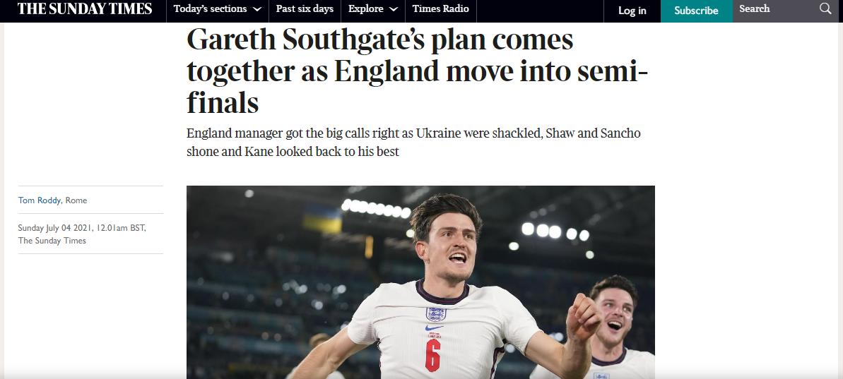 Украина – Англия: обзор британских СМИ - изображение 7