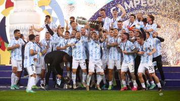Сборная Аргентины - победитель Копа Америка-2021