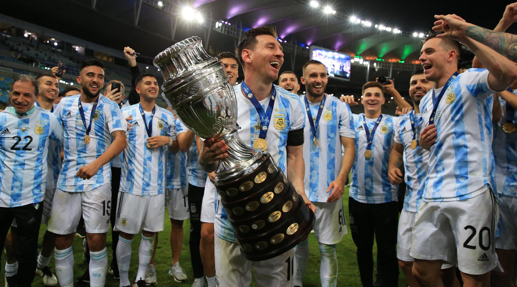 Лионель Месси выиграл первый свой трофей в сборной Аргентины - FootBoom