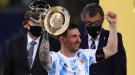 """Лионель Месси: """"Благодарю за поддержку народ Аргентины и Диего Марадону"""""""