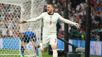 Италия - Англия 0:1. Гол Люка Шоу (Видео)