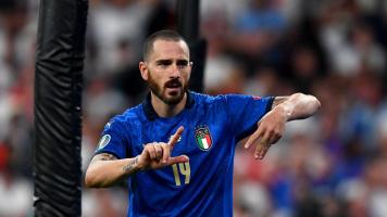 Италия - Англия 1:1. Гол Леонардо Бонуччи (Видео)