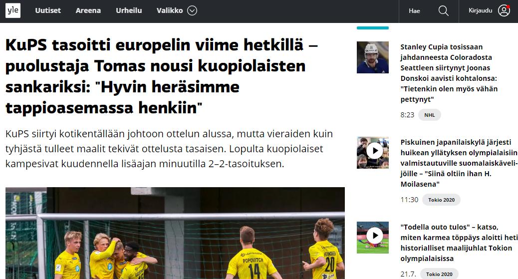 """КуПС – """"Ворскла"""": обзор финских СМИ - изображение 3"""