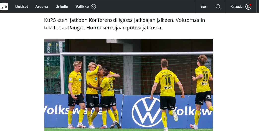 """""""Ворскла"""" - КуПС: обзор финских СМИ - изображение 2"""