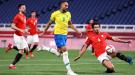 Сборная Бразилии на Олимпиаде в Токио пробилась в полуфинал футбольного турнира