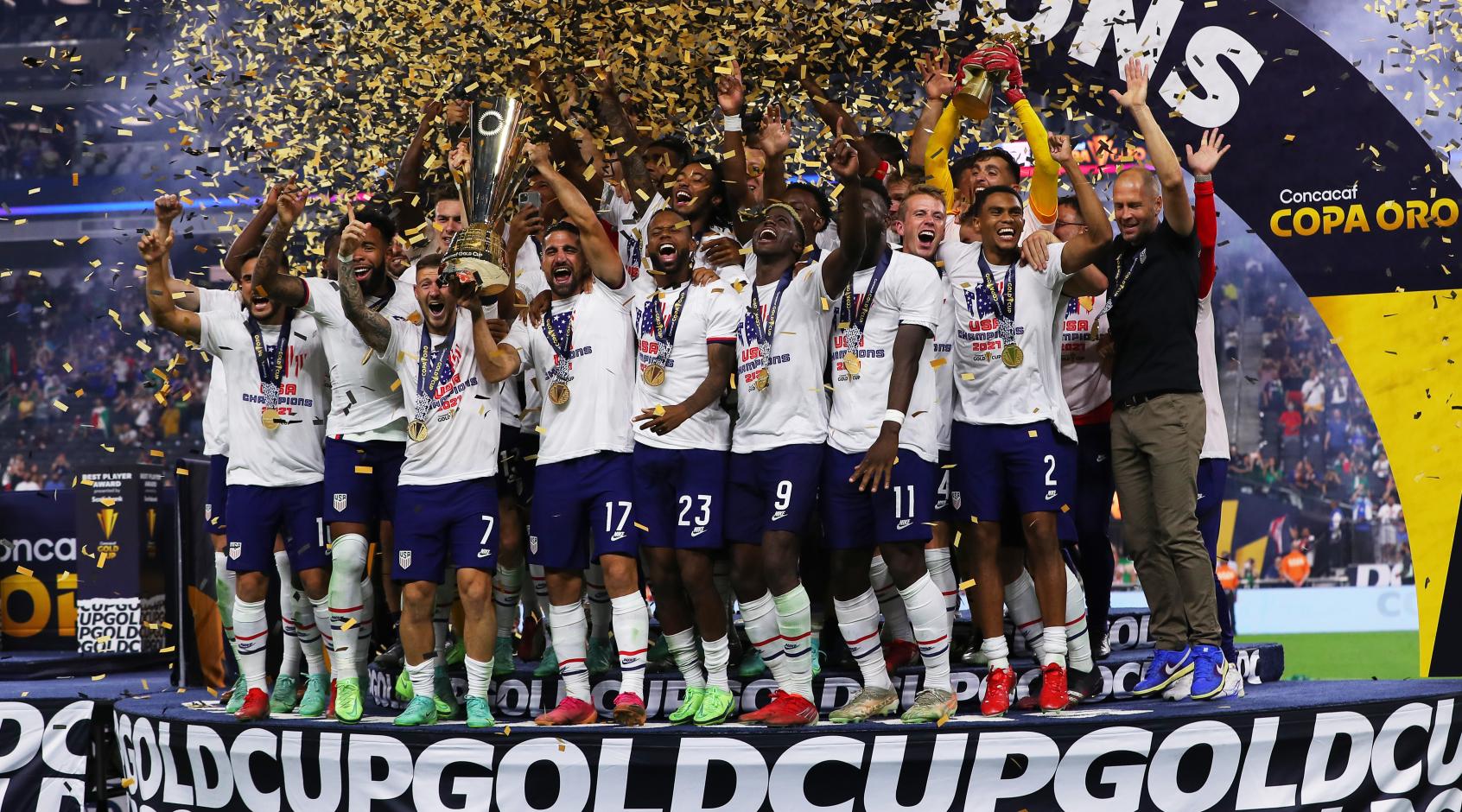 Сборная США стала победителем Золотого кубка КОНКАКАФ