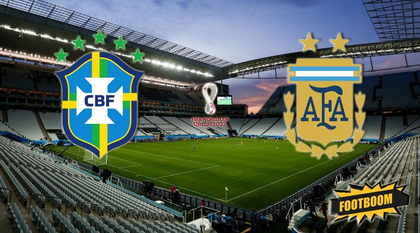 Бразилия - Аргентина. Анонс и прогноз матча