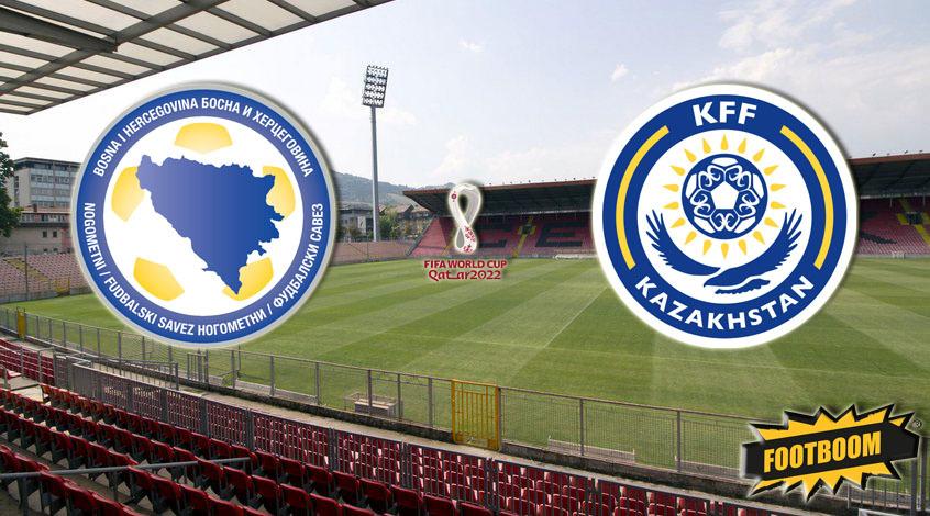 Босния и Герцеговина – Казахстан: стартовые составы