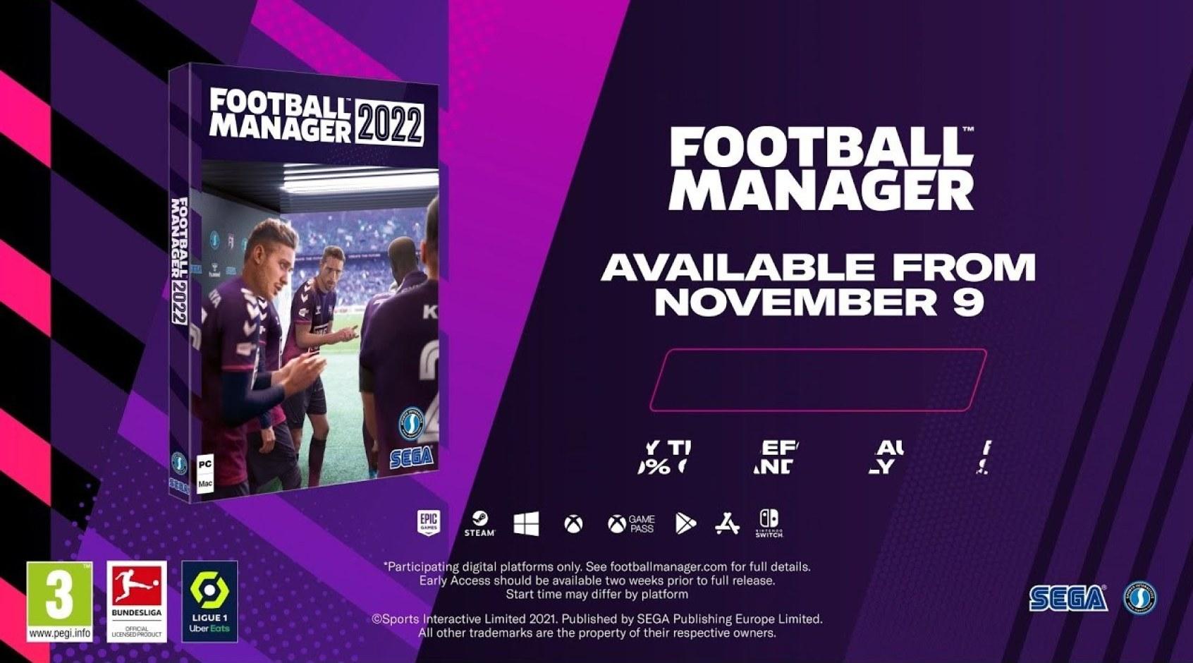 Презентация Football Manager 2022 (Видео)