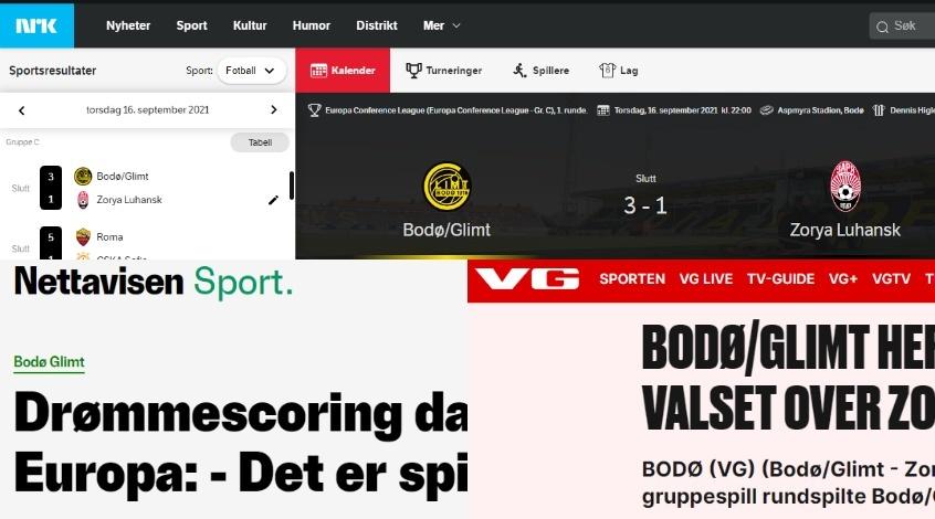"""""""Будё-Глимт"""" - """"Заря"""": обзор норвежских СМИ"""