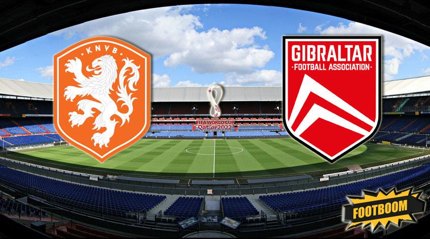 Нидерланды -  Гибралтар: где и когда смотреть матч онлайн