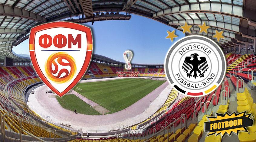 Северная Македония -  Германия: где и когда смотреть матч онлайн
