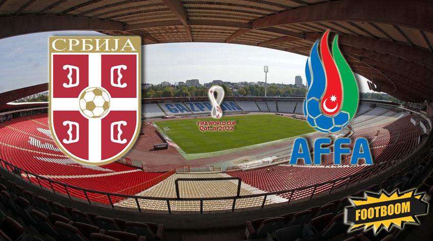 Сербия -  Азербайджан: где и когда смотреть матч онлайн