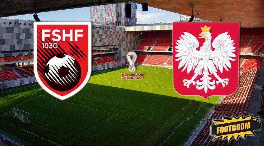 Албанские фанаты устроили игрокам сборной Польши бутылочный обстрел, игру остановили на 20 минут (Видео)