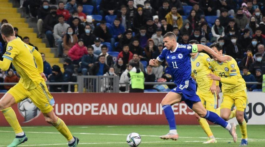 Казахстан – Босния и Герцеговина 0:2. Хитрый Смайл и нефартовый Эдин