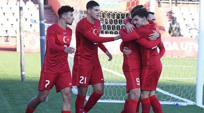 Казахстан (U-21) – Турция (U-21) 0:1. Дестан дослал
