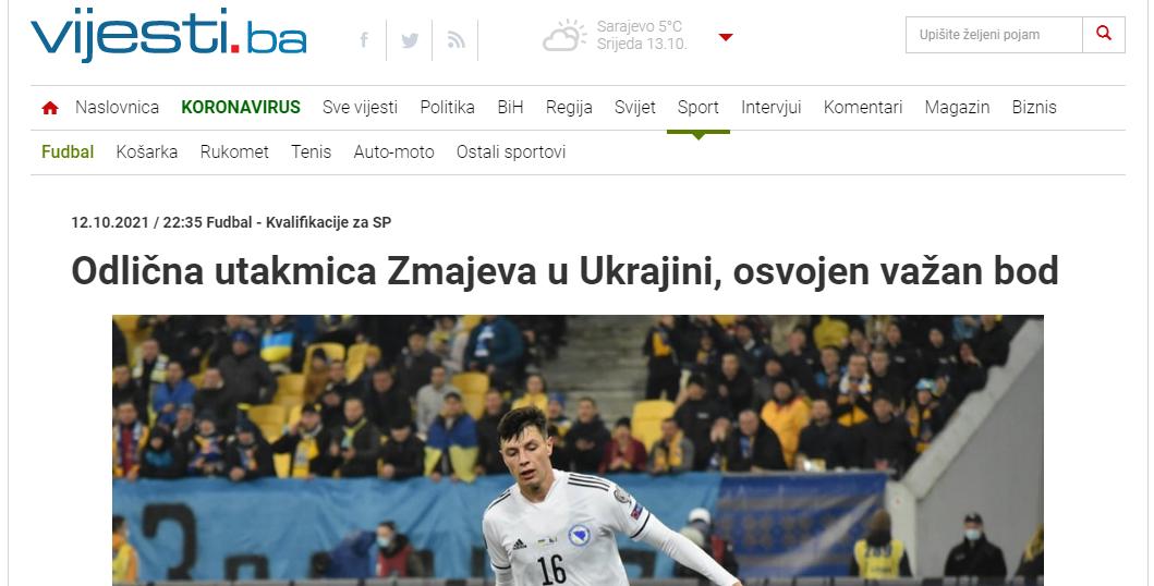 Украина – Босния: обзор боснийских СМИ - изображение 3