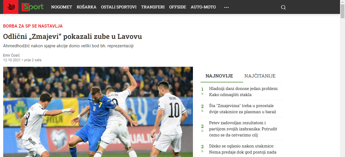 Украина – Босния: обзор боснийских СМИ - изображение 2