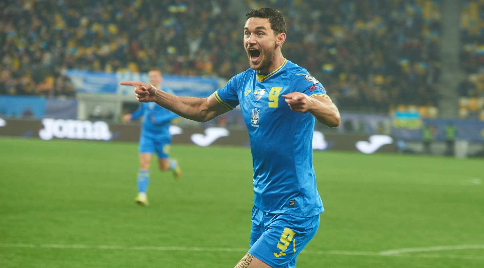 Украинский нападающий попал в команду недели FIFA 22