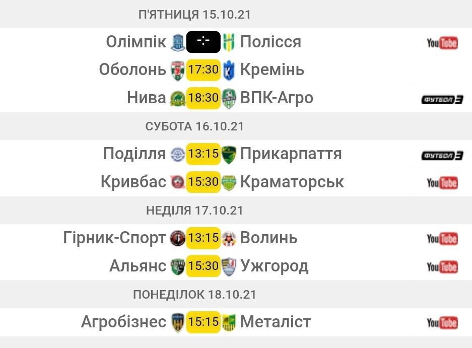 Первая лига. 14-й тур. Анонс матчей - изображение 1