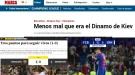 """""""К счастью, это было всего лишь """"Динамо"""", - испанские СМИ раскритиковали """"Барселону"""" после победы"""